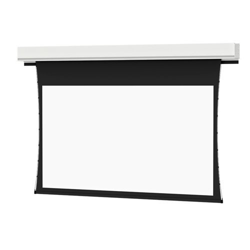 Best Buy! Da-Lite Tensioned Large Advantage Deluxe Electrol 21783-White - 298 (146x260) - [16:9]- 0...