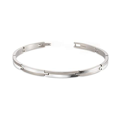 Boccia Damen-Armband Titan One Size Silber 32013876