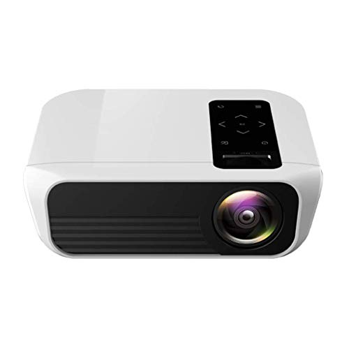 WYJW Mini Draagbare Draadloze Projector, 1080P Home Theater 3000 2019 Android 7.0 LCD LED Smart TV Projectors 200 Display for Gaming Outside Movie, met HDMI USB Audio VGA AV Draadloos Scherm Cast