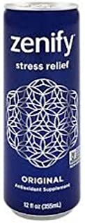 16 Pack - Zenify Natural Stress Relief Drink - 12oz.+ Energy Drink Outlet Sticker