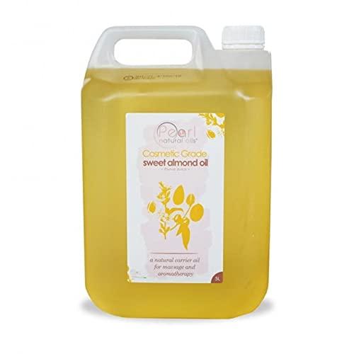 5 litres d'huile d'amande douce de qualité...