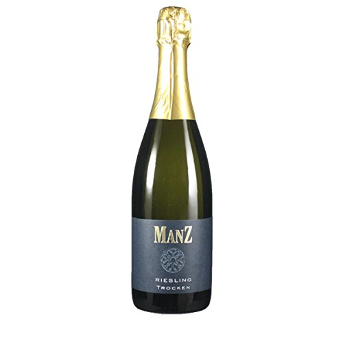 Manz Wein GbR 2015 Riesling Sekt trocken Klassische Flaschengärung 0.75 Liter
