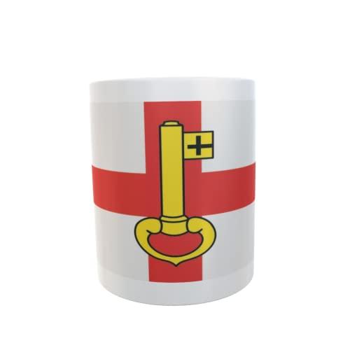U24 Tasse Kaffeebecher Mug Cup Flagge Rheinberg