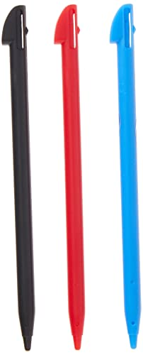 Tomee Stylus Pen Set for Nintendo 3DS XL (3-Pack)