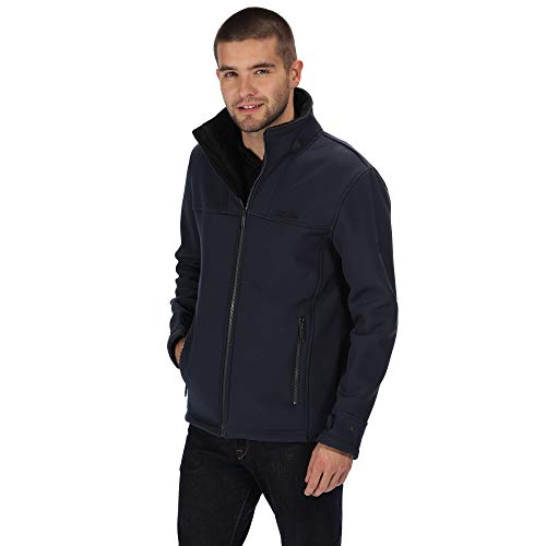 Regatta Veste Softshell Coupe-Vent Conlan Soft Shell Homme Navy(Black) FR: XL (Taille Fabricant: XL)