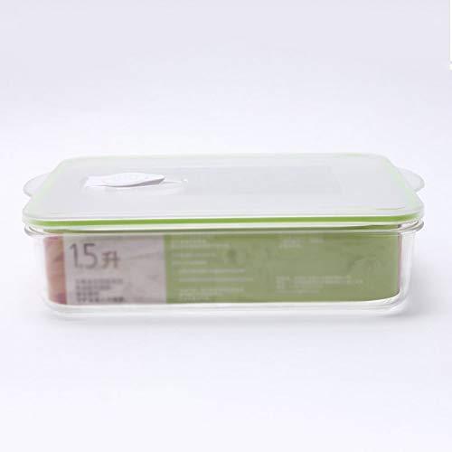 XYZMDJ Sellado al vacío de Alimentos Contenedores de Almacenamiento con Caja de Almacenamiento de Almacenamiento de Alimentos Caja de Almacenamiento de vacío refrigerador a Prueba de Fugas Tapas