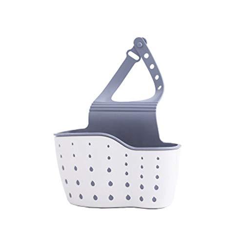 Yundrenin 1pc Portable Home Kitchen Hanging Drain Basket Bag Bathroom Storage Tools Sink Holder Kitchen Accessory