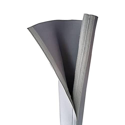 Telo di copertura per tubo dell'aria portatile Wrap, copertura isolata, universale, adatto sia per il tubo di scarico dell'aria da 5 pollici che 6 pollici di diametro, facile installazione