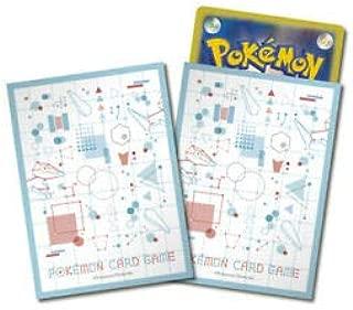 Pokemon Center Card Porygon Maker Deck Shields (64 Sleeves) Japanese