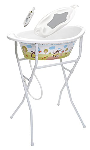 Rotho Babydesign 21039 0195 BS ideale Badelösung, weiß