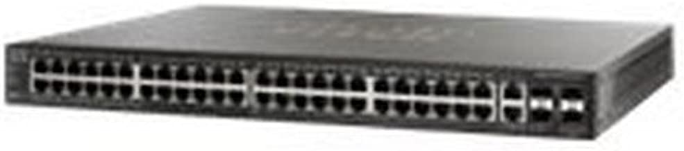 Cisco Small Business SF500-48P - switch - 48 ports - managed - rack-mountable