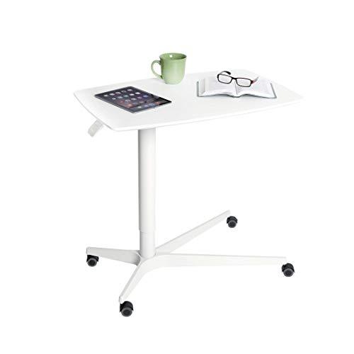Seville Classics Höhenverstellbarer Tisch, Aluminium, 75.9 x 48 x 62 bis 94.5 cm (LxBxH)