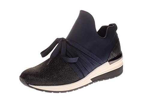 La Strada 1901188 - Damen Schuhe Freizeitschuhe - 4060-blue-lycra, Größe:36 EU