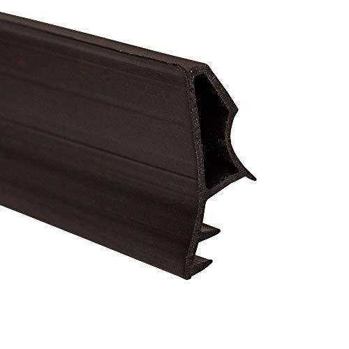 DIWARO.® Stahlzargen-Dichtung SZ003   schwarz   5 lfm für Haus- und Innentüren. Zum Schallschutz und abdichten der Tür. Bestehend aus TPE (Thermoplastischen Elastomer)