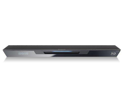 Panasonic DMP-BDT320EG 3D Blu-ray Player (2D/3D-Konvertierung, WLAN, DLNA, iPhone/Android-steuerbar) schwarz