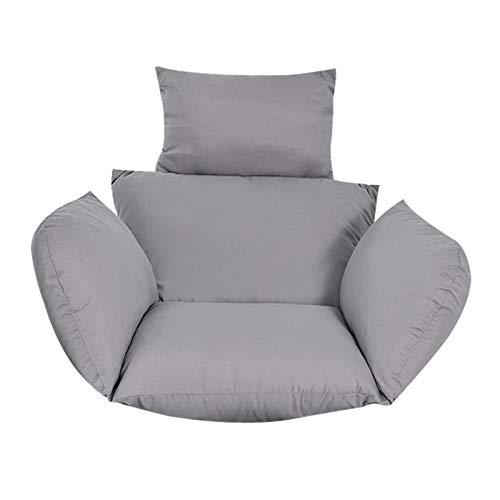 Kaibrite 6D - Sillón colgante para sofá, sillón, resistente, diseño de silla, color gris y negro, instalación en un sillón colgante (gris)