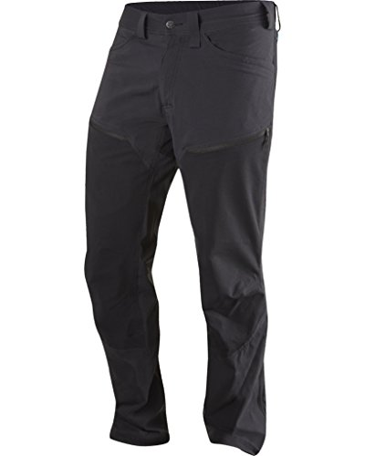 Haglofs Mens Mid Flex Pant L Short Leg Black