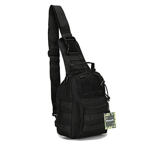Dunnta Tactical Sling bag, Military Sport Bag EDC Molle Pack...