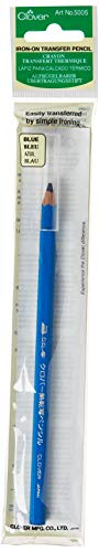 CLOVER Iron-on Transfer Pencil, Blue
