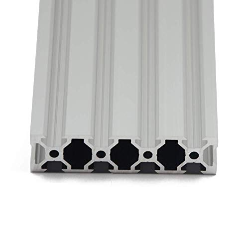 Iverntech 1PC 400mm V Type 2080 Aluminum Extrusion Profile for DIY 3D Printer and CNC Machine