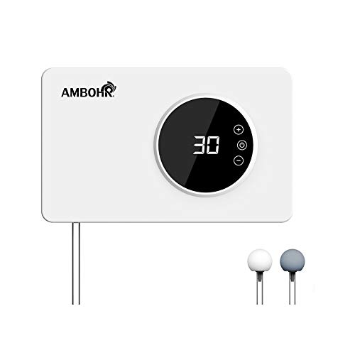 AMBOHR Portable Ozone Generator Air Purifier sterilizer, 400mg/h Multipurpose Ozone Machine for Water, Food, Home,Office,Hunting.