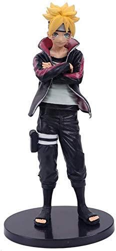 Hermosa Shanping Anime Carácter Estatua Naruto Boss Biografía Single Blogger Blogger PVC Adornos en caja, Modelo hecho a mano Regalo de cumpleaños Decoración de escritorio Material de PVC Material Est