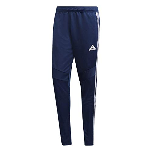 adidas Men's Tiro 19 Training Soccer Pants, Tiro '19 Pants, Dark Blue/White, Medium