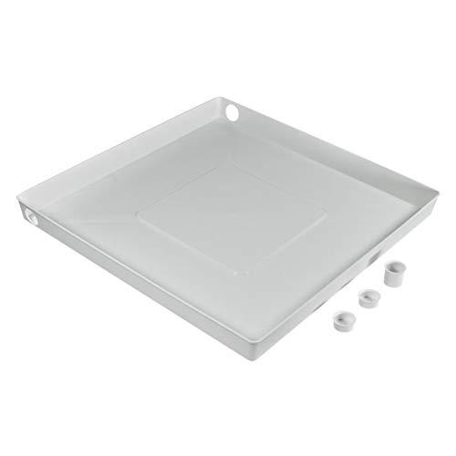 VIOKS Bodenwanne Auffangbehälter Wasserwanne Auffangwanne für Waschmaschine oder Spülmaschine wie Universal: Universell einsetzbarer Artikel 65x65x6cm