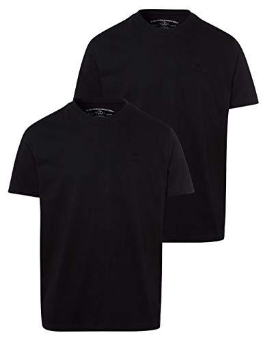 ROADSIGN Australia 2er Pack T-Shirt Rundhals schwarz schwarz XXL