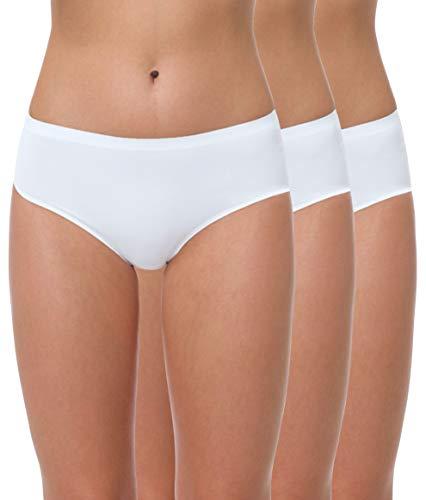 Yenita® - Braguita Seamless sin Costuras para Mujer, Pack de 3