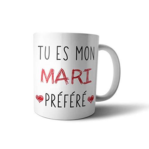 Mugs tasse cadeau - Mon mari préféré