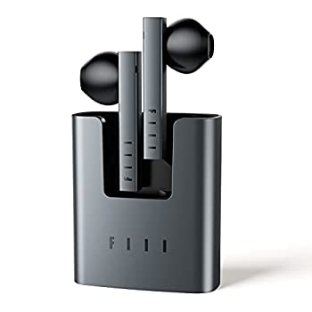 True Wireless Earbuds - FIIL Bluetooth 5.2 TWS Earbuds True Wireless Headphones with Stereo Microphone Support FIIL+ APP Noise Cancelling Earbuds Waterproof Earbuds for iPhone & Android