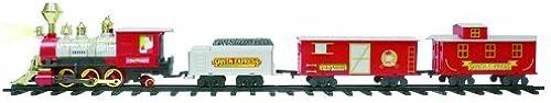 Seasonal Vision Jumbo Santa Holiday Train by Morris