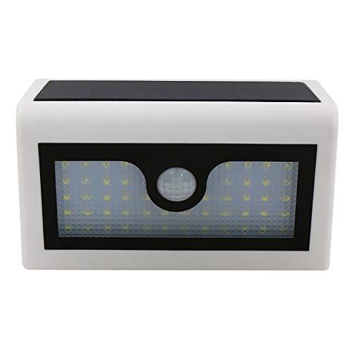 ZJZ Solar Lights Outdoor 120° Brede Hoek Waterdicht Duurzame Zonne-Muurlampen voor Voordeur Garage Hek Deck Beveiliging Nachtlampen