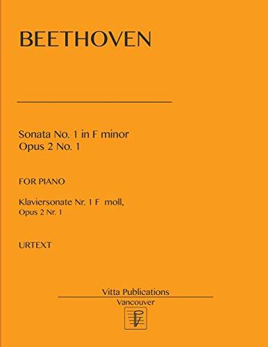 Price comparison product image Sonata No. 1: F minor op. 2 no.1 Urtext