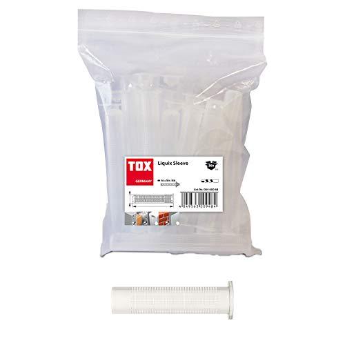 TOX Verbundmörtelzubehör Liquix Sleeve Siebhülsen 16x 130 mm, Inhalt 20 Stück, 08460074