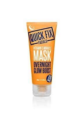 Quick Fix Facials Vitamin C Overnight Miracle Mask, 100 ml