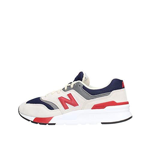 New Balance 997h, Sneaker Uomo, Grigio (Grey/Navy Heq), 42 EU