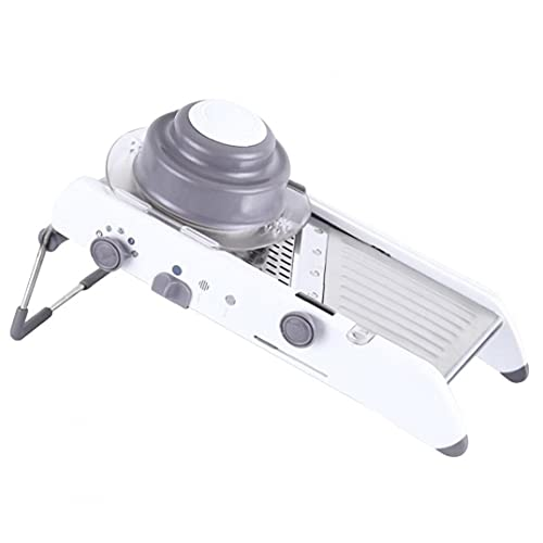 AUCDK Slicer Vegetable Fruit Grater Stainless Steel Adjustable Multifunctional Food Slicing Tool for Kitchen