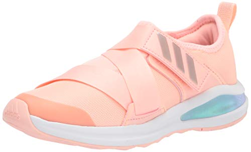 adidas Kids Fortarun X Running Shoe, Haze Coral/White/Grey, 6 US Unisex Little Kid