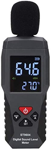 GLLP Sound-Level-Messgerät 30-130DB digitaler Rausch-Tester-Rauschen-Audio-Detektor digitales Diagnosewerkzeug Automotive