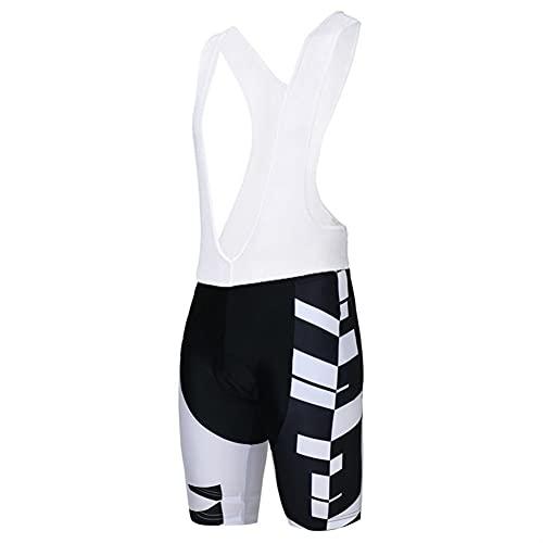 Triatlón Mujer Ciclismo Culotte con tirantes Acolchado Bicicleta de carretera Pantalones cortos de ciclismo de montaña Mejor ajuste Transpirable (Color : 1, Size : XX-Large)