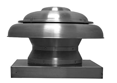 Soler and Palau ARE12MH1AS N/A Exhaust Fan 1/4 Horse Power 6.1 Sones 115/160 Volt Dome Direct Drive Propeller...
