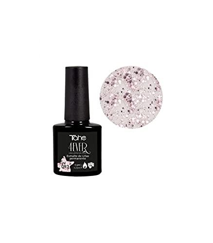 Tahe 4-Ever Esmalte de uñas Larga Duración, color Glam, 7.5 ml