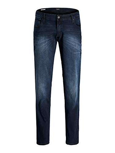 JACK & JONES Herren JJIGLENN JJORIGINAL AGI 034 PS Jeans, Blue Denim, 44/34