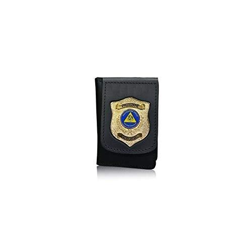 Portafoglio Portadocumenti con Placca a clip Protezione Civile Volontariato Nazionale 1WD115 Vega Holster Italia Art. 1WD115OFF