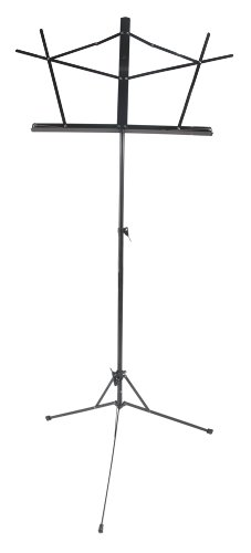 West Music Folding Wire Music Stand with Bag (black)