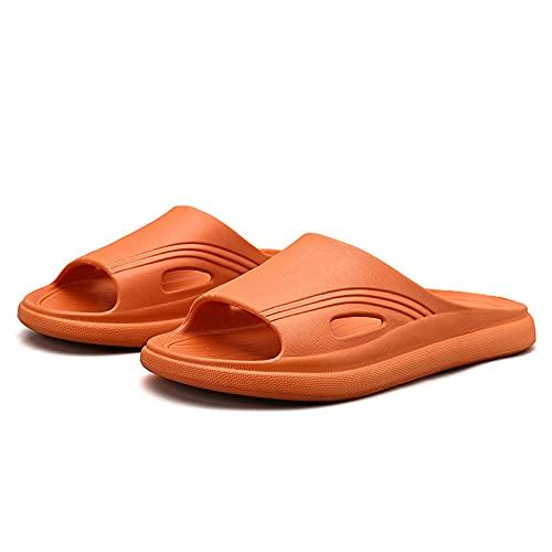 ZZLHHD scarpe da doccia, pantofole estive per la casa, pantofole da bagno con fondo morbido, arancione_39, pantofole spa