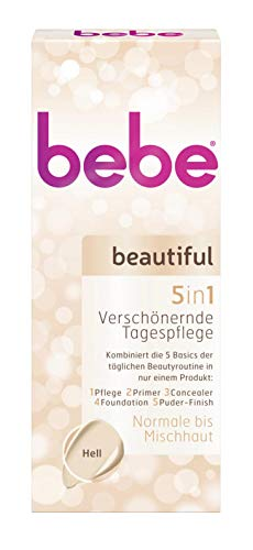 bebe beautiful Tagespflege Hell 5in1 Tube 50 ml