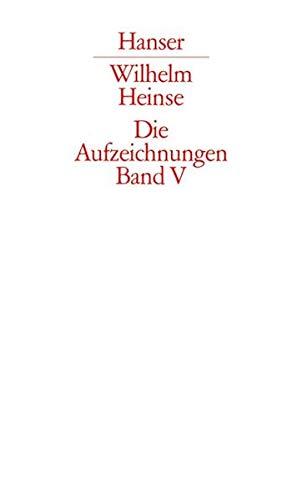 Die Aufzeichnungen. Frankfurter Nachlass: Band V: Dokumente, Bibliographie, Nachworte, Bildtafeln, Register